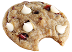 Wooden Spoon Cookie Dough Oatmeal Cranberry cookie icon