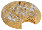 Wooden Spoon Cookie Dough Peanut Butter cookie icon